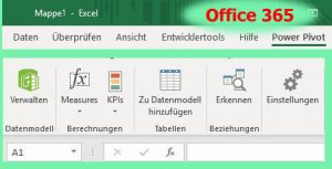 Excel in Office 365 - PowerPivot